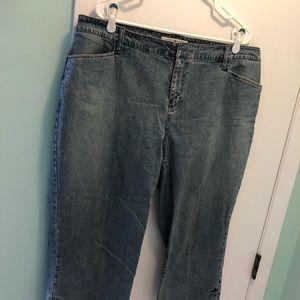 Tommy Hilfiger Capri jeans women's size 18